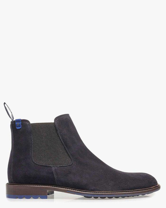 Dunkelblauer Chelsea Boot