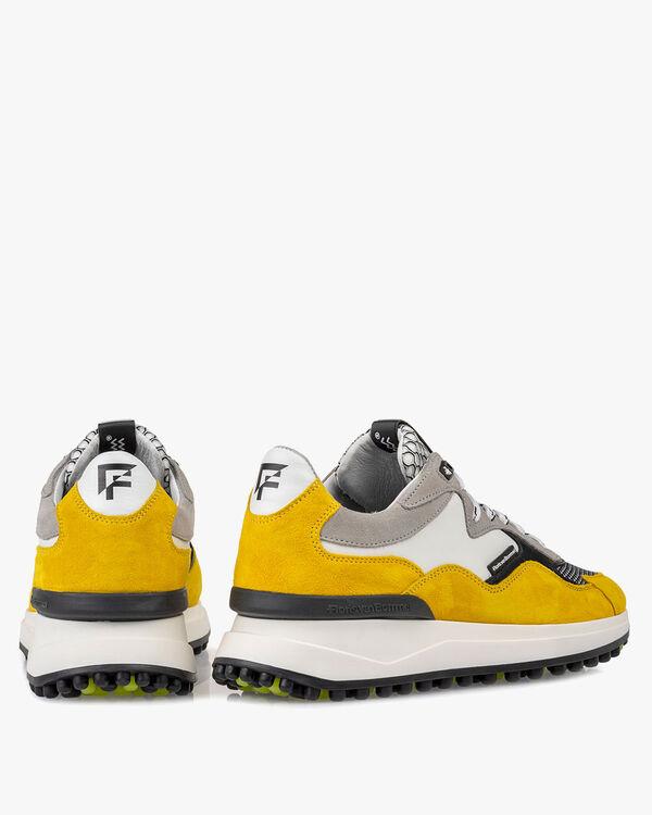 Noppi Sneaker Wildleder gelb