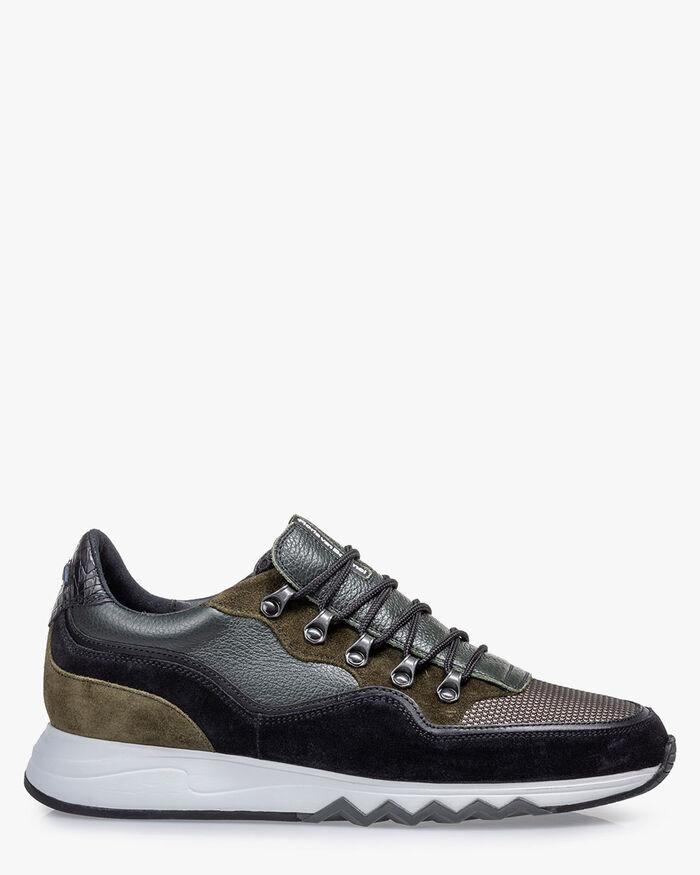 Nineti Sneaker dunkelgrün