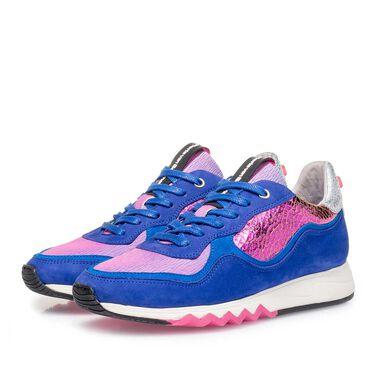 Nubukleder Damen-Sneaker