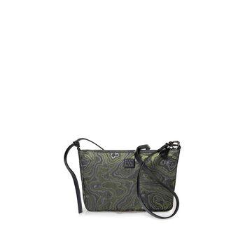 Crossbody-Tasche Print grün