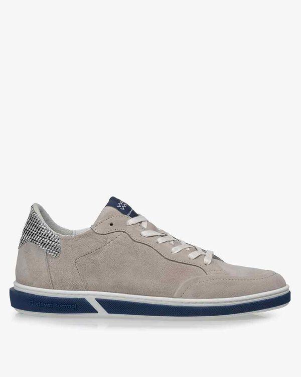 Sneaker Wildleder grau