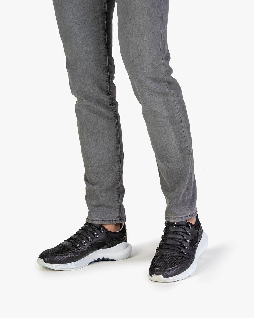 Bulki Sneaker schwarz Leder
