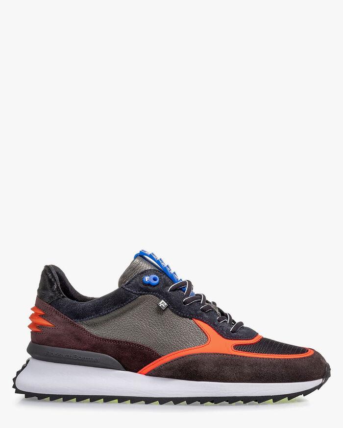 Sharki Sneaker grau/orange