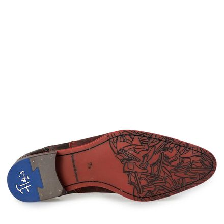 Floris van Bommel men's nubuck brogue lace shoe
