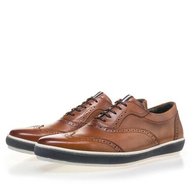 Floris van Bommel men's brogue lace shoe