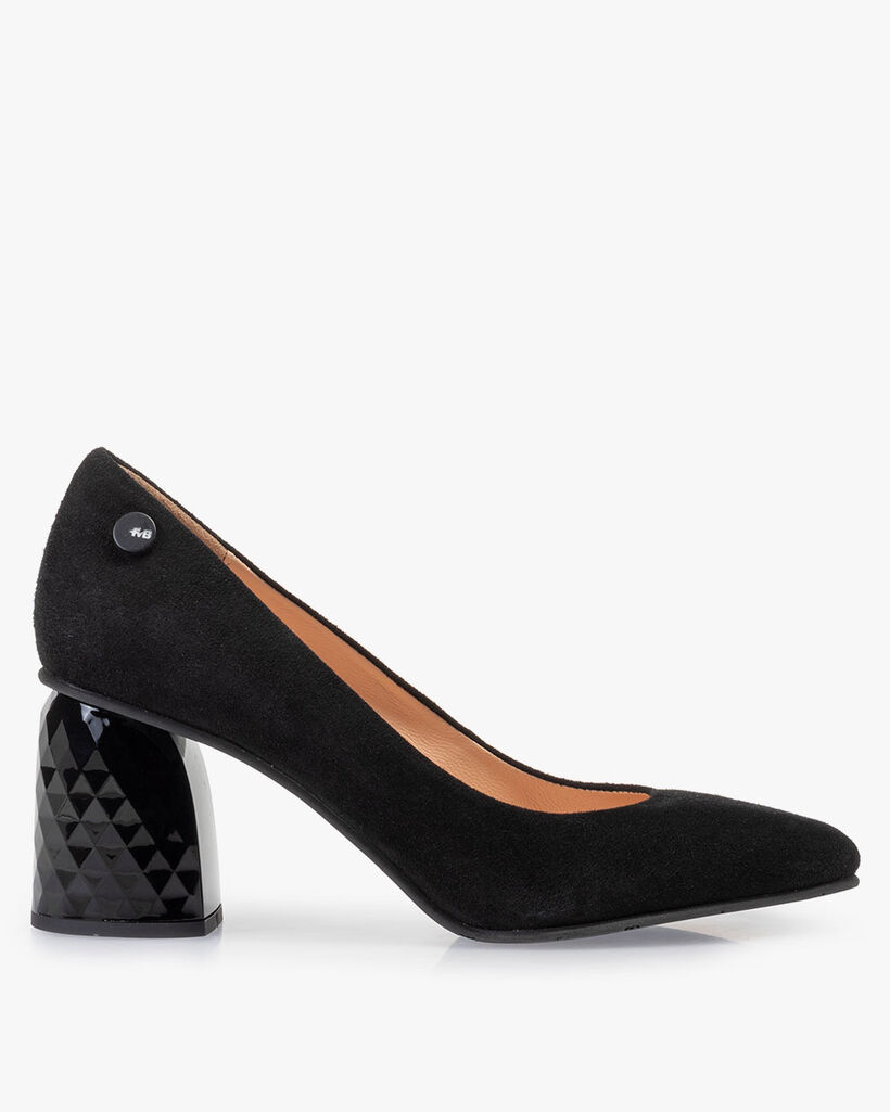 Pumps Wildleder schwarz
