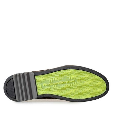 Halbhoher Sneaker mit Paspel