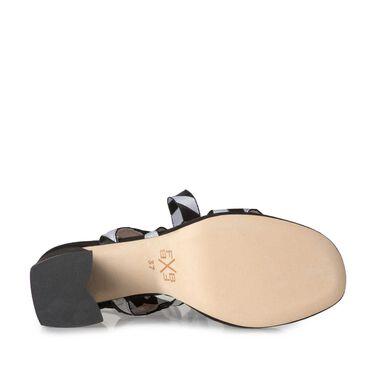 Sandale mit Keilabsatz