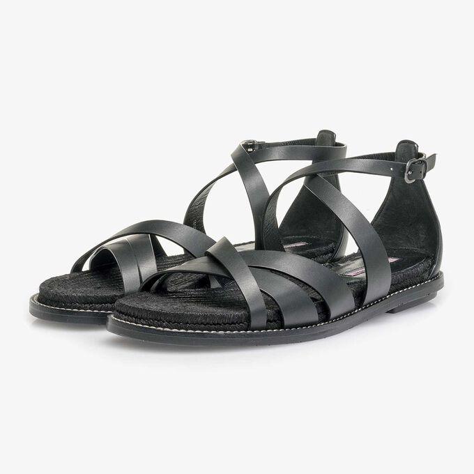 Leder Sandale