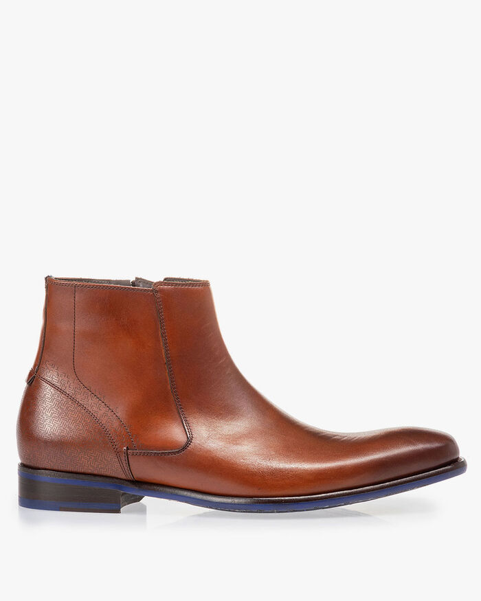 Chelsea boot cognac calf leather