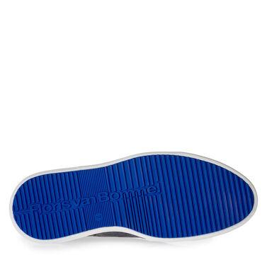 Wildleder-Schnürschuh mit Print