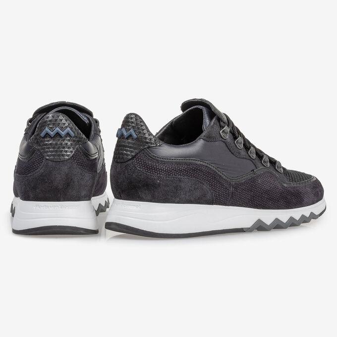 Sneaker schwarz Wildleder