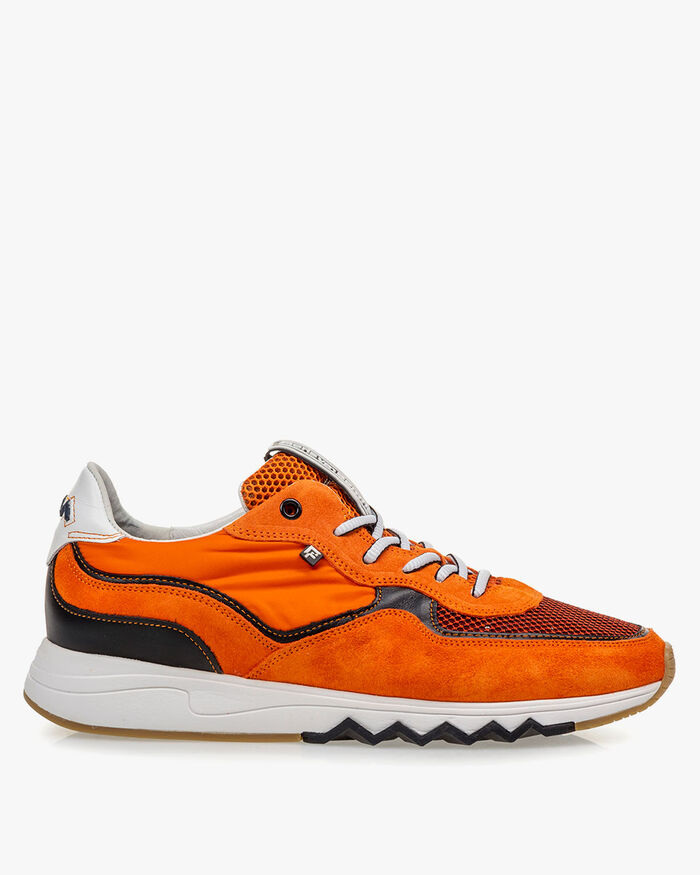 Nineti  Wildleder orange