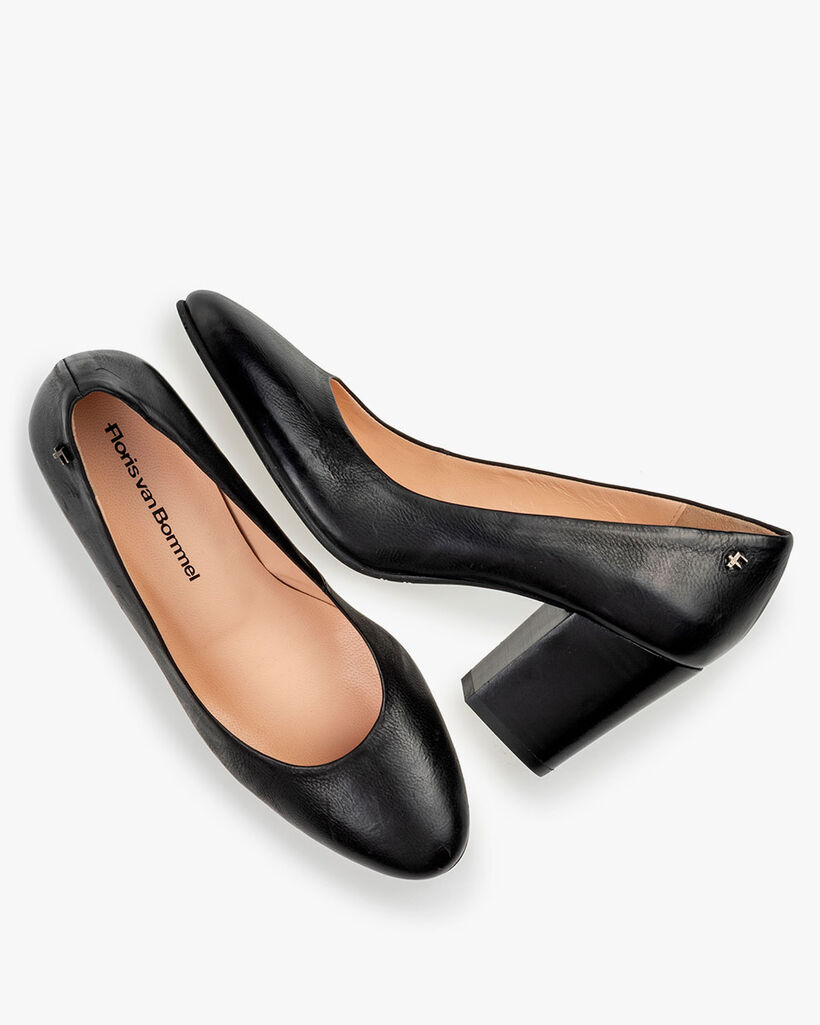 Pumps nappa leather black
