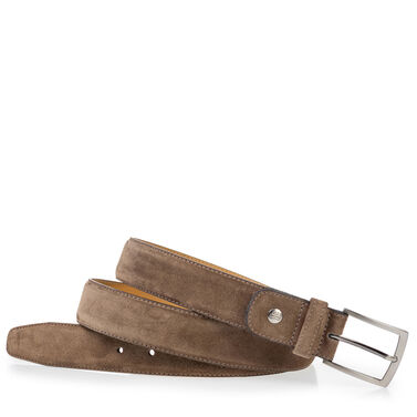 Van Bommel calf leather belt
