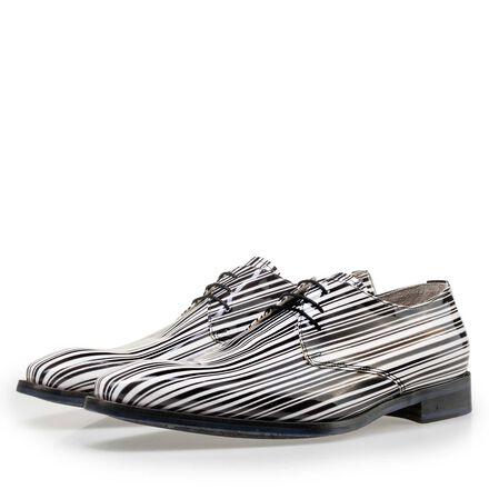 Floris van Bommel Premium men's patent leather lace shoe
