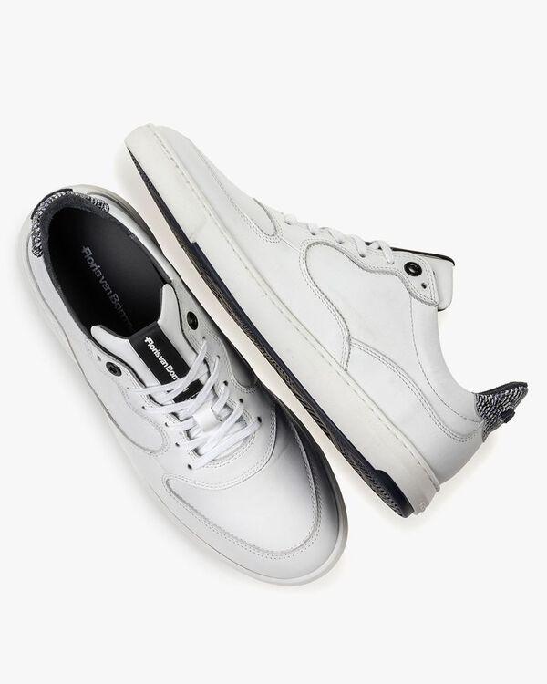 Sneaker weiß Kalbsleder
