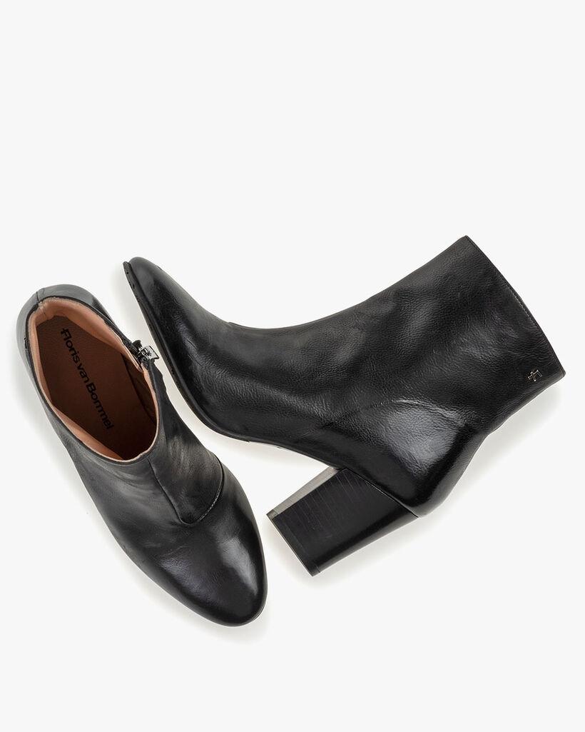 Stiefelette Nappaleder schwarz