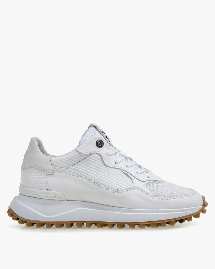 Noppi calf leather white