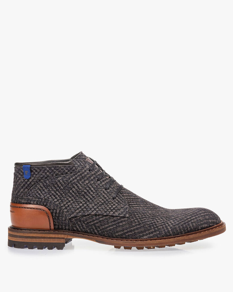 Crepi boot grey with print