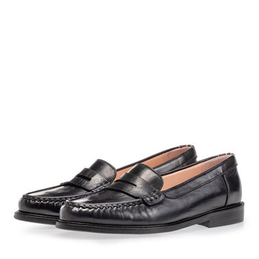 Leder Loafer Damen