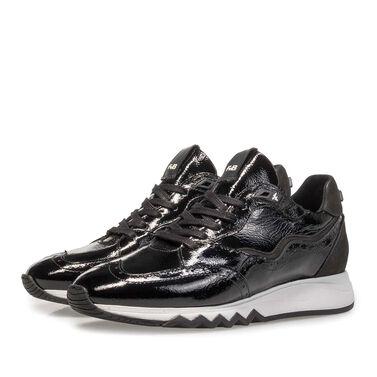 Lackleder-Sneaker