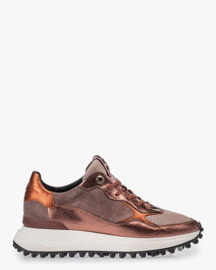Noppi sneaker pink leather