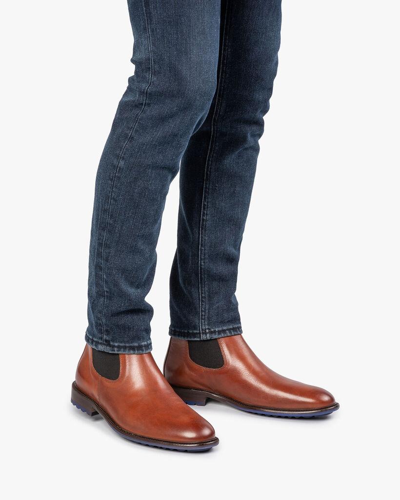 Chelsea boot calf leather cognac