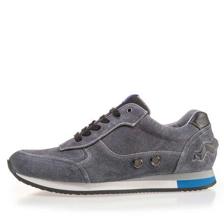 Sportlicher Sneaker aus  Wildleder