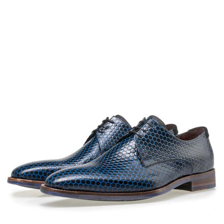 Floris van Bommel calf's leather lace shoe