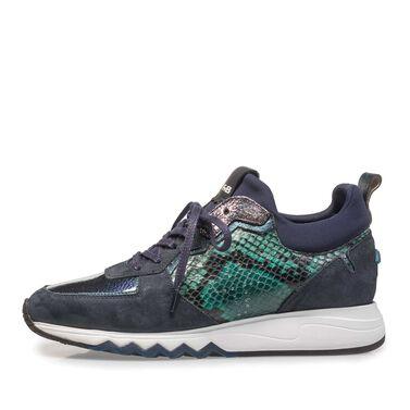 Sneaker mit Joggingschuhsohle