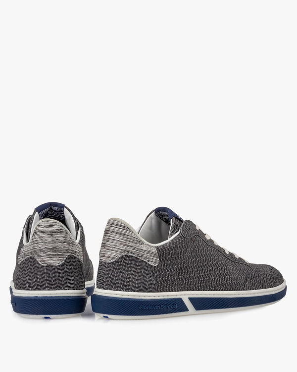 Sneaker Nubukleder grau