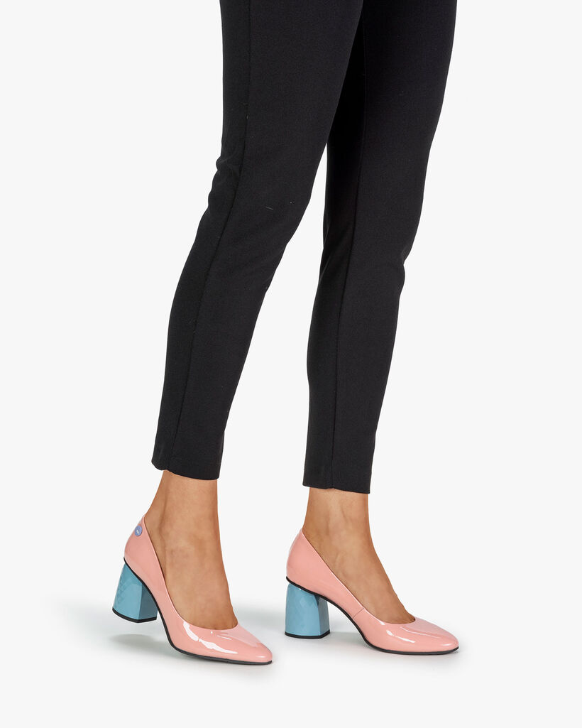 Pumps Lackleder pink