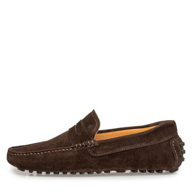 Leather moccasin Van Bommel