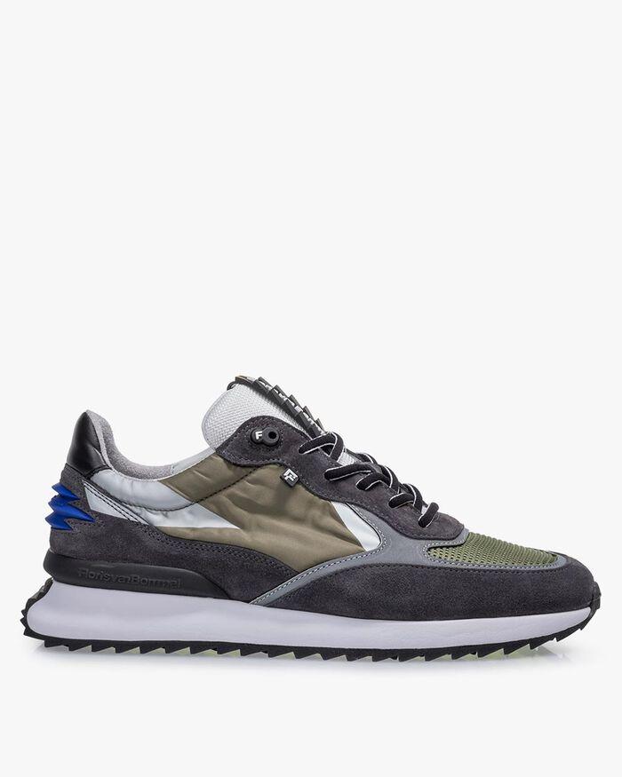 Sneaker Textil grün