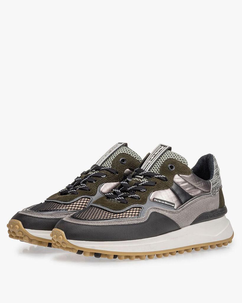 Noppi Sneaker grau-grün