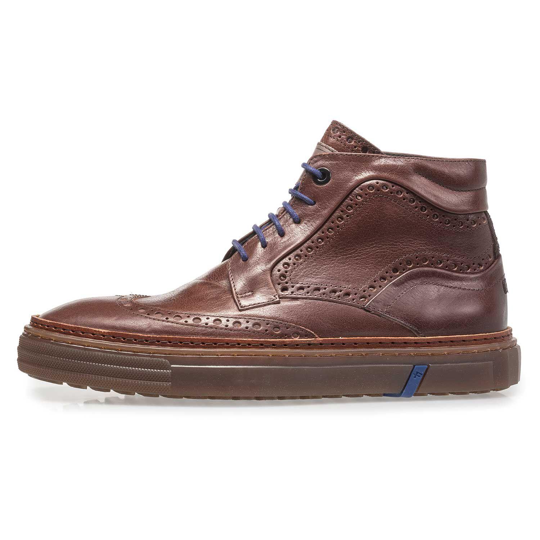 Halbhoher gefütterter Sneaker – blau – 1008001|Floris van