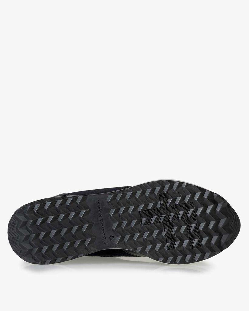 Sneaker Lackleder blau