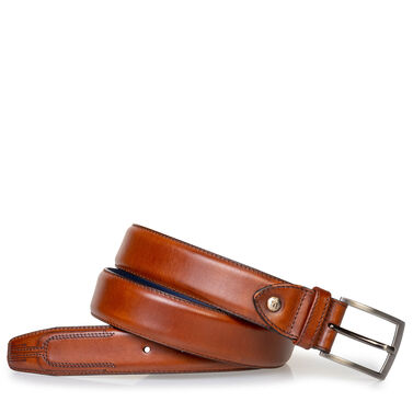 Belt calf leather