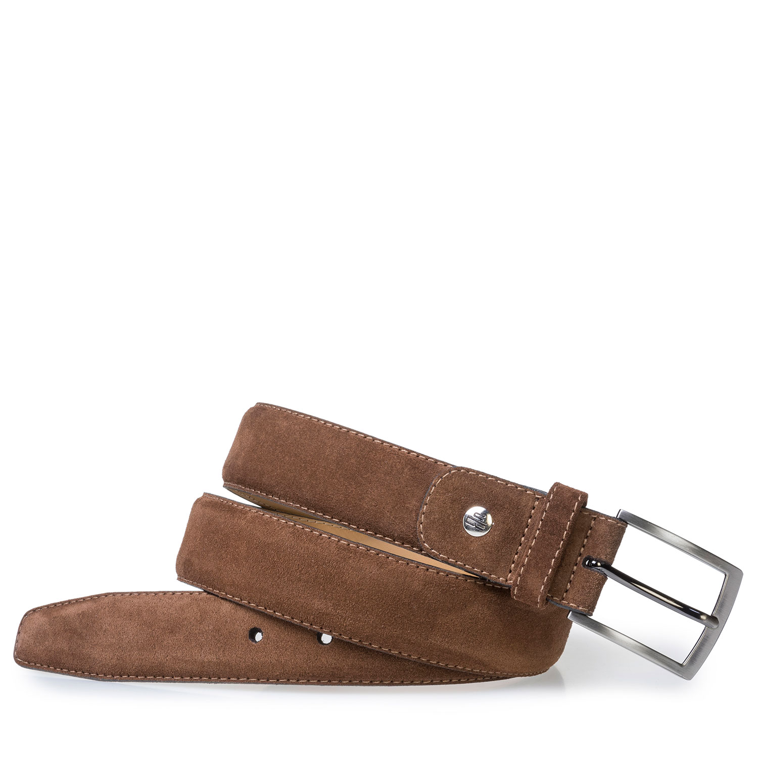 75076/36 - Brown suede belt