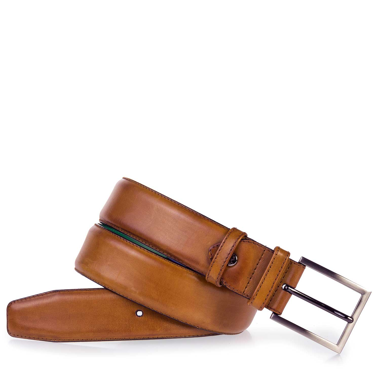 75178/01 - Cognac-coloured leather belt