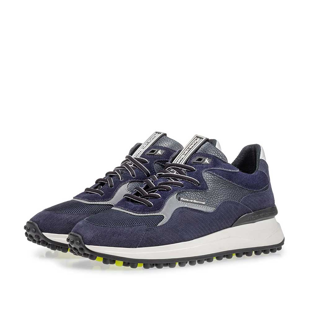 16339/04 - Noppi sneaker dark blue with print