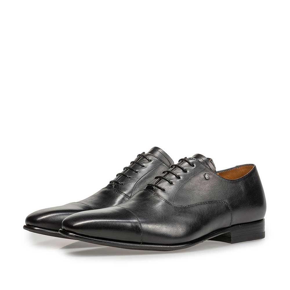 16395/01 - Black calf leather lace shoe
