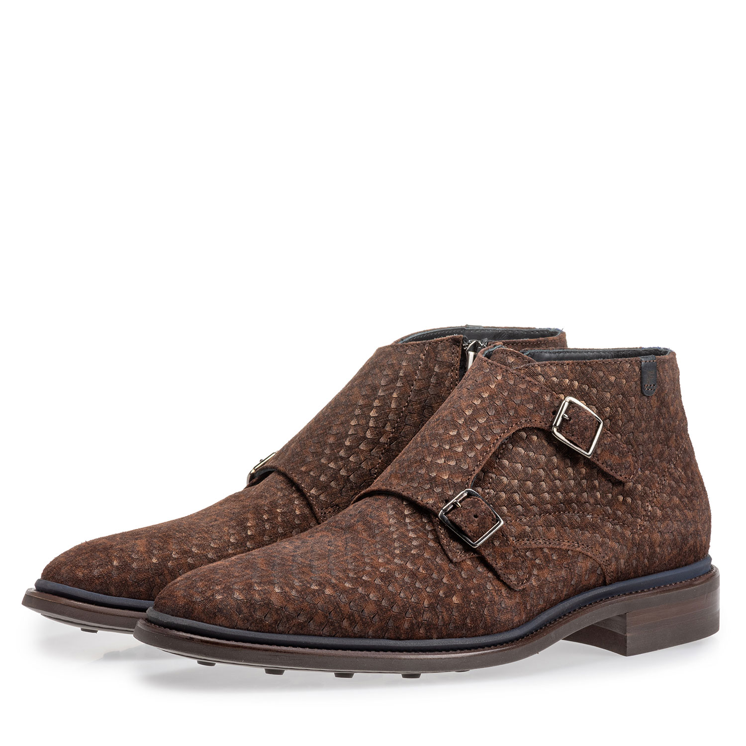 10672/05 - Boot with buckle closure dark brown