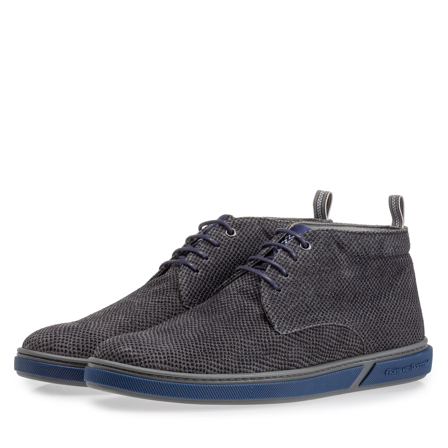 20350/17 - Lace boot grey with print