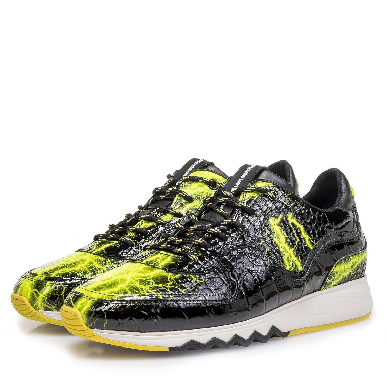 Floris van Bommel Herren 1629601 Sneaker, Gelb (Yellow