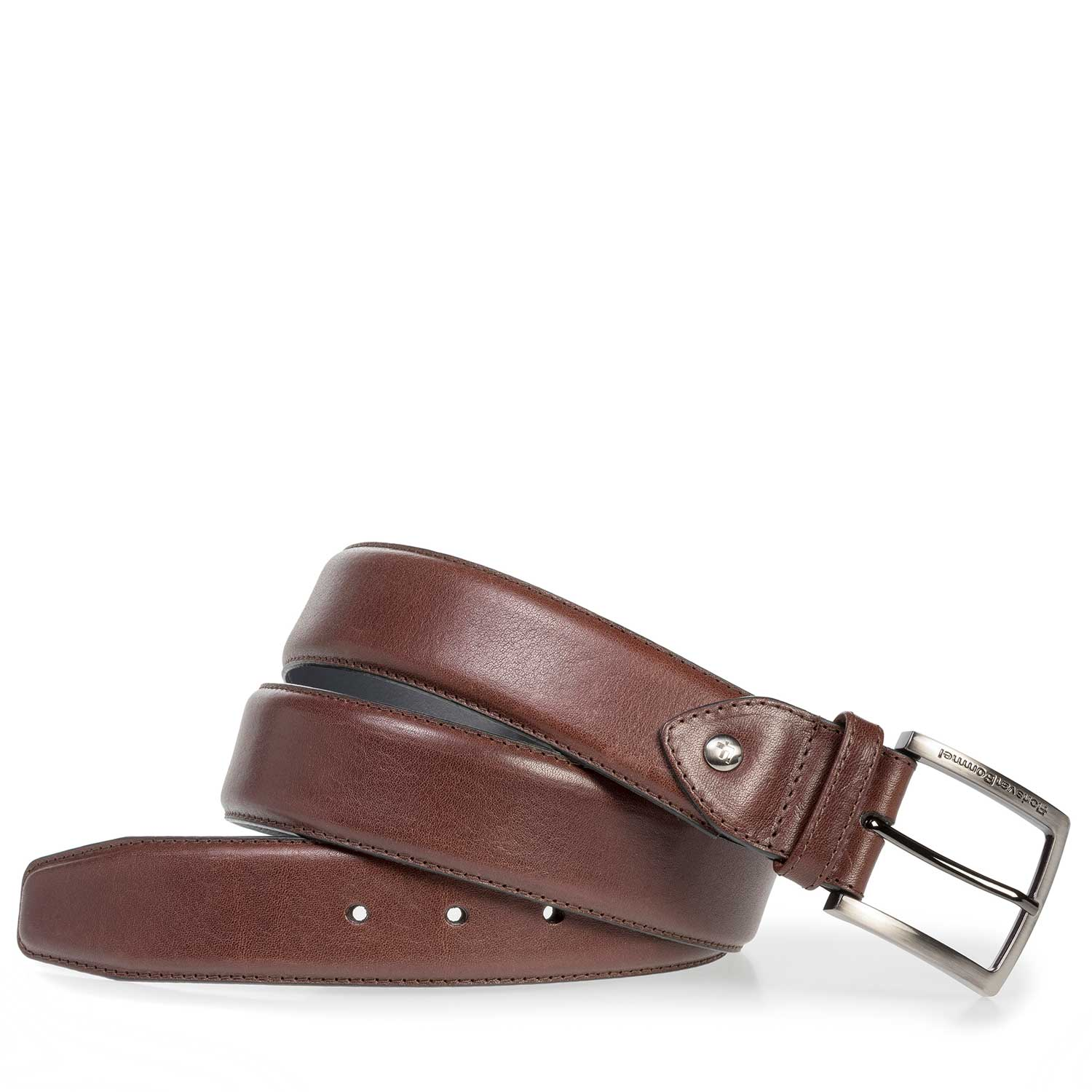 75202/23 - Red-brown calf leather belt