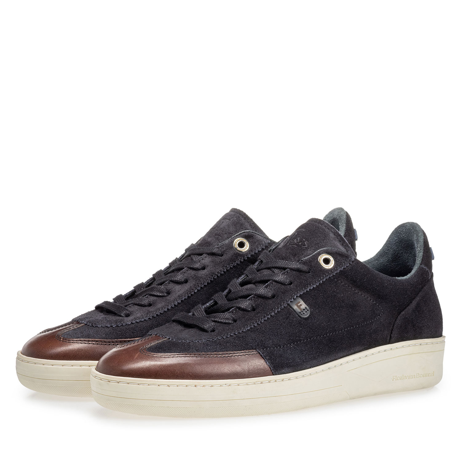 16267/04 - Sneaker suede leather black