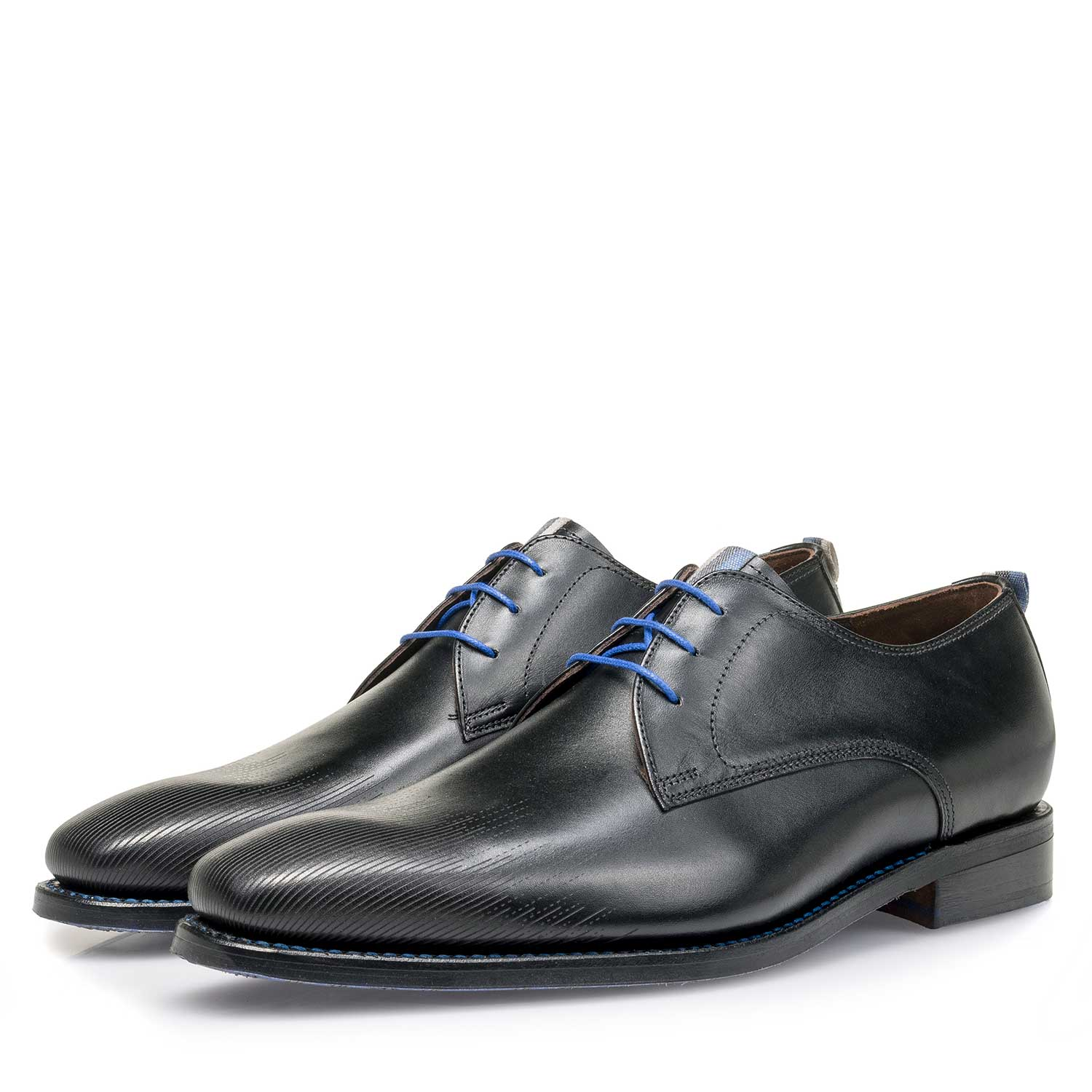 18084/03 - Black calf leather lace shoe